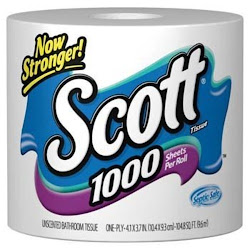 Scott 1000 Bath Tissue - 1 Roll