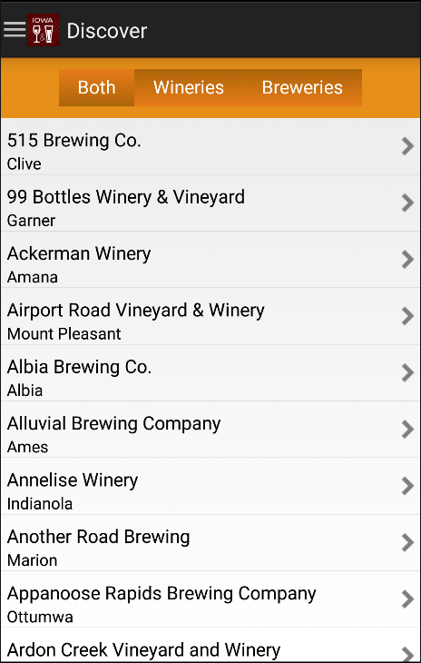 Iowa Wine & Beer- screenshot