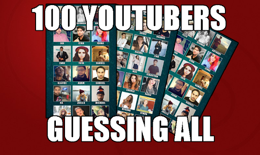 GUESSING YOUTUBERS 2