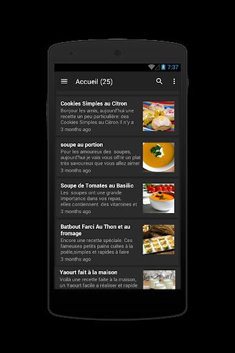 idee repas 4.2 screenshots 8