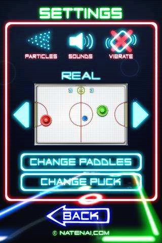 Glow Hockey 2 screenshot 3