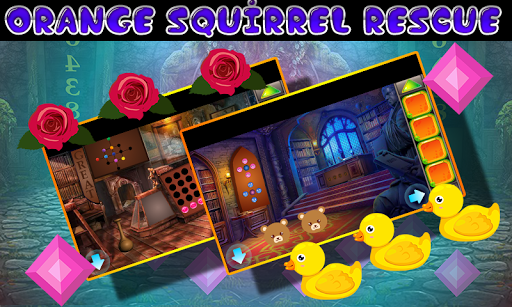 Best Escape Games  33 Orange Squirrel Rescue Game 1.0.0 screenshots 3