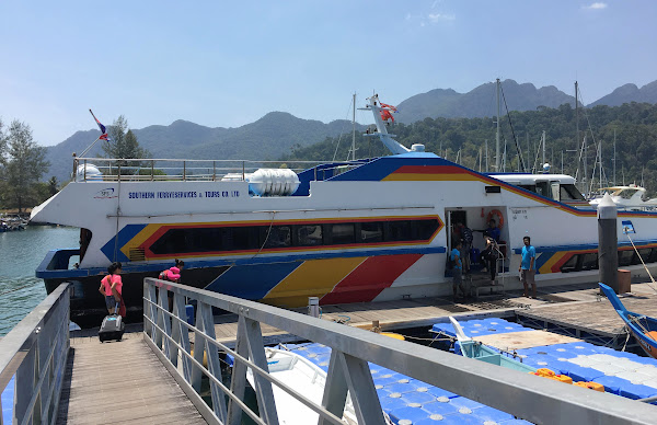Travel from Koh Lipe to Langkawi by Southern Ferry Services