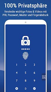 Bilder & Videos verstecken: LockMyPix PRO Fotosafe Screenshot