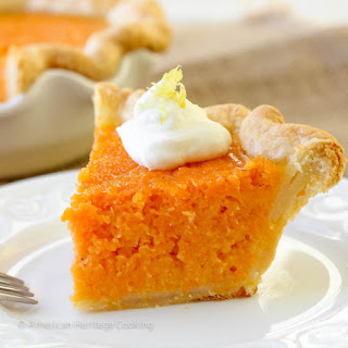 Mary Randolph's Sweet Potato Pie
