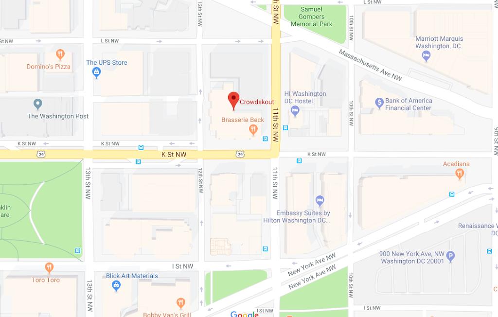 crowdskout google maps