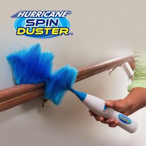 Pamatuf electric de praf, antistatic, Hurricane Spin Duster