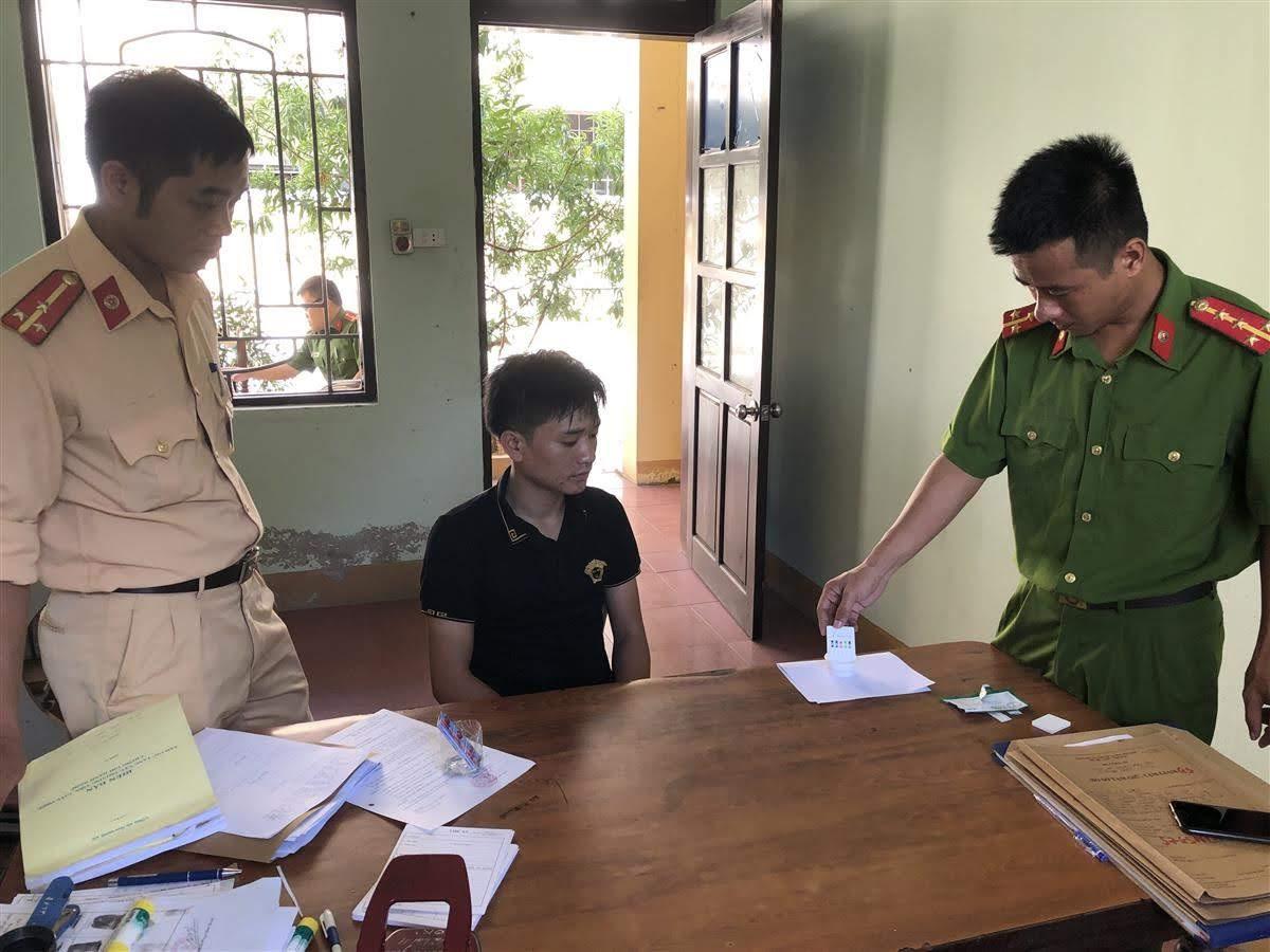 Công an huyện Anh Sơn bắt giữ 1 đối tượng phạm tội ma túy