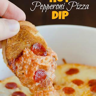 Hot Pepperoni Pizza Dip.