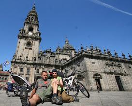 Photo: przed katedrą w Santiago