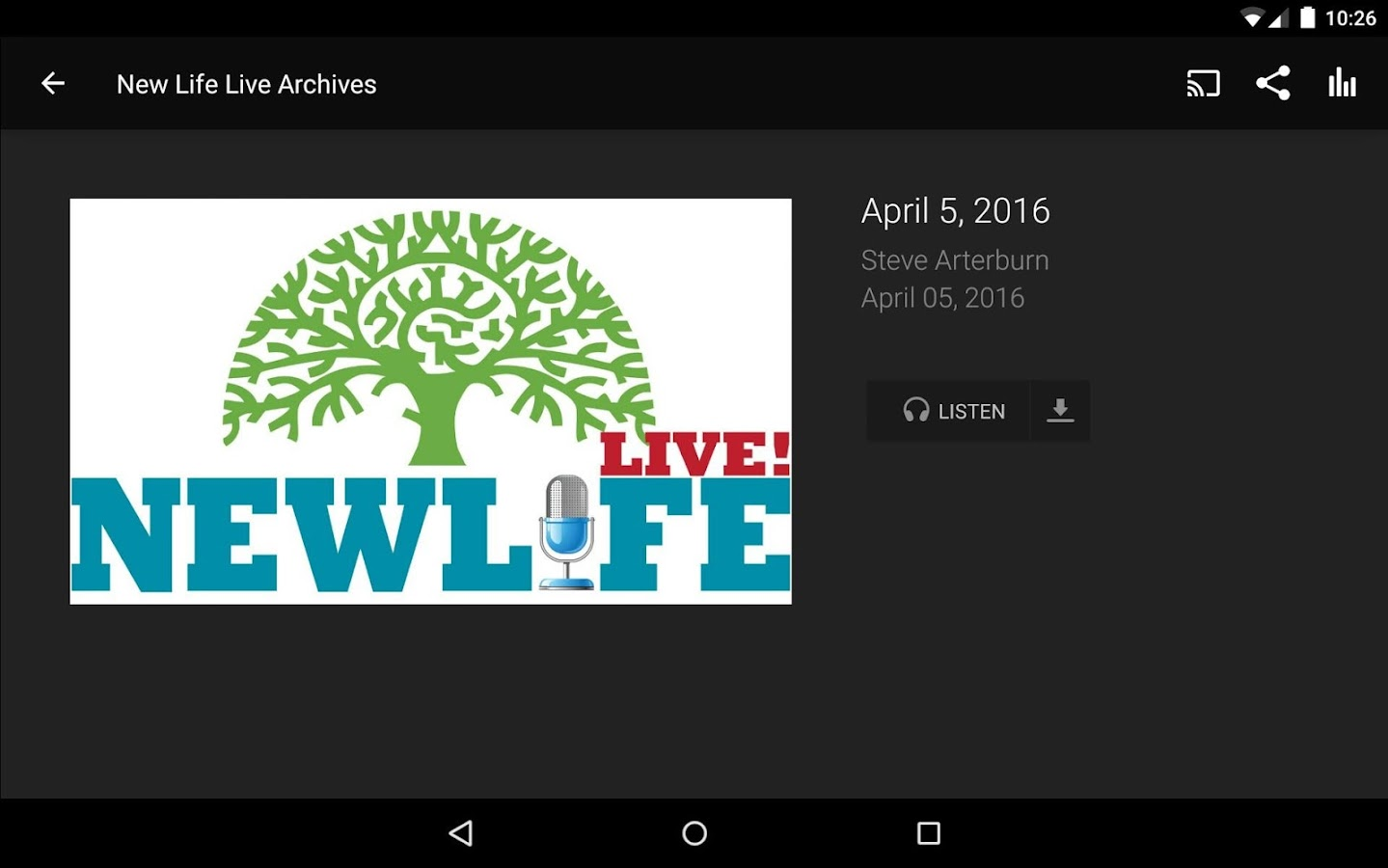 NEW LIFE MINISTRIES APP- screenshot