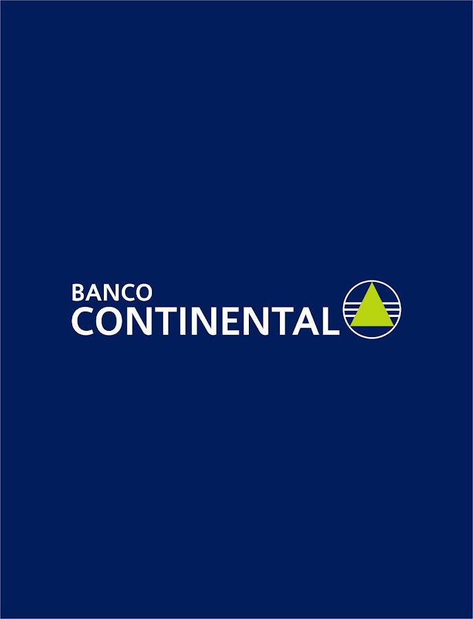 Banco Continental: captura de pantalla