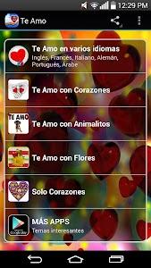 Te Amo screenshot 0