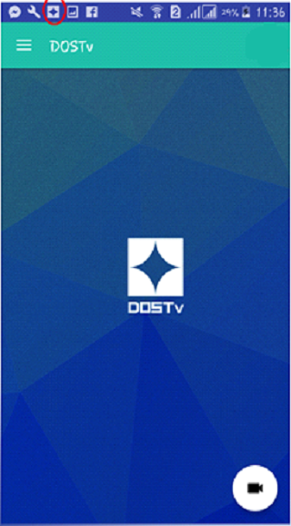 DOSTv- screenshot