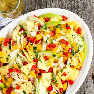 Pineapple Ginger Dressing Salad Recipes