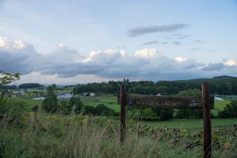 田村ファームを望む風景