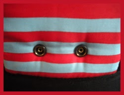 """Photo: """"Seuss""""  customized Beco Gemini close up of the front snaps"""