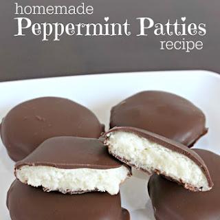 Homemade Peppermint Patties.