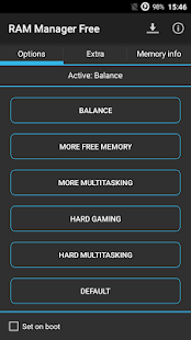 RAM Manager Free- screenshot thumbnail