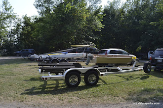 Photo: Boats and trailers at Grand Isle State Park by Adam White
