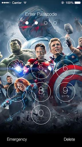 Avengers: Age of Ultron Lock Screen 1.4 screenshots 2