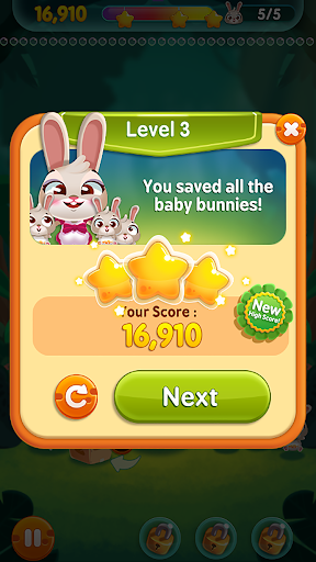 Bunny Pop screenshot 2