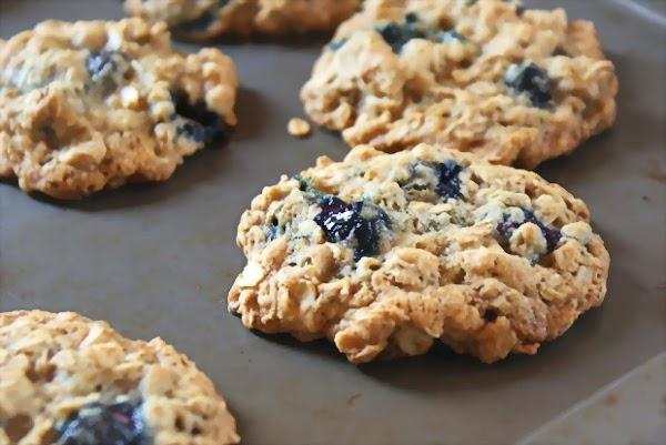 Blueberry Crisp Cookies (with Gluten Free Option) Recipe
