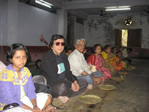 Photo: Chakla Dham - afternoon prasad distribution