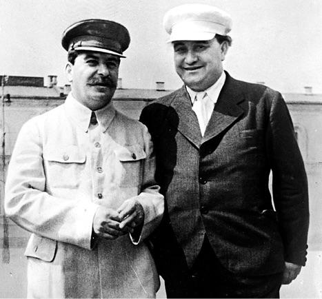 Георгий Димитров и Иосиф Сталин