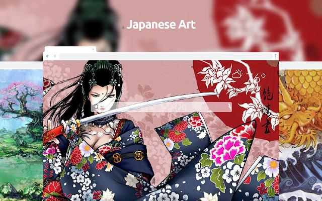 Japanese Art HD Wallpapers New Tab