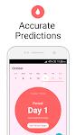 screenshot of Period Tracker Flo, Pregnancy & Ovulation Calendar