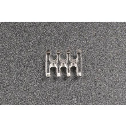 Kabelkam for 6 pins kabel, 2x3 Ø4mm spor, klar
