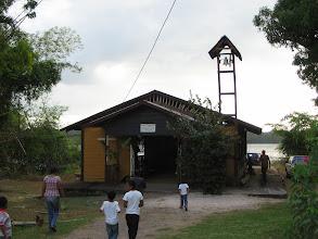 Photo: Het kerkje van Washabo