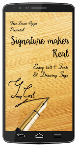 Signature Maker Real screenshot 0