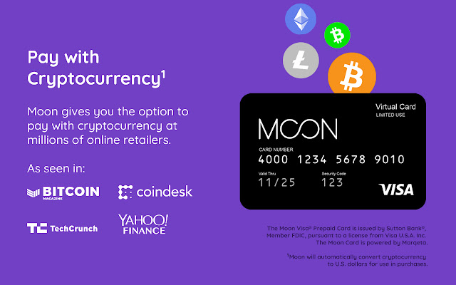 Moon: Shop online with Bitcoin