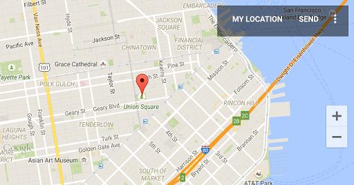 Send My Location Map|玩生活App免費|玩APPs