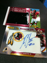 Photo: Exclusive Robert Griffin III Autograph and Tools of the Trade Material Card From NSCC!
