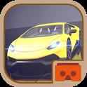 VR SUPER RACER CARS 3D icon
