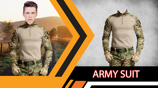 Army Suit Photo Editor - náhled
