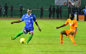 Photo: Mohamed 'Medo' Kamara   [Leone Stars v Ivory Coast, 6 September 2014 (Pic © Darren McKinstry / www.johnnymckinstry.com)]