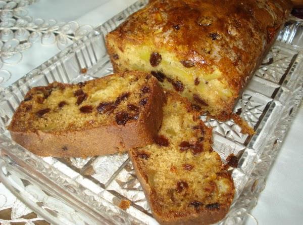 Apple-raisin Bread W/ Orange Glaze Recipe