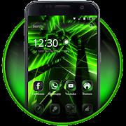 Neon Green Theme Tech Launcher 1.1.3 Icon