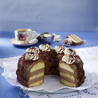 Mocha Cake.