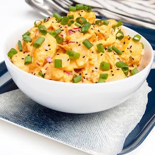 Kimchi Potato Salad