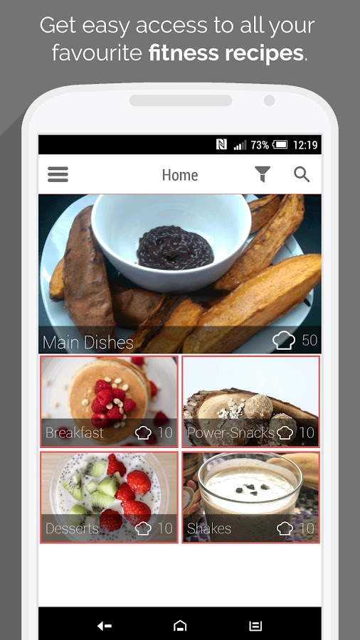 Fitness Recipes by MyFitFEED- screenshot
