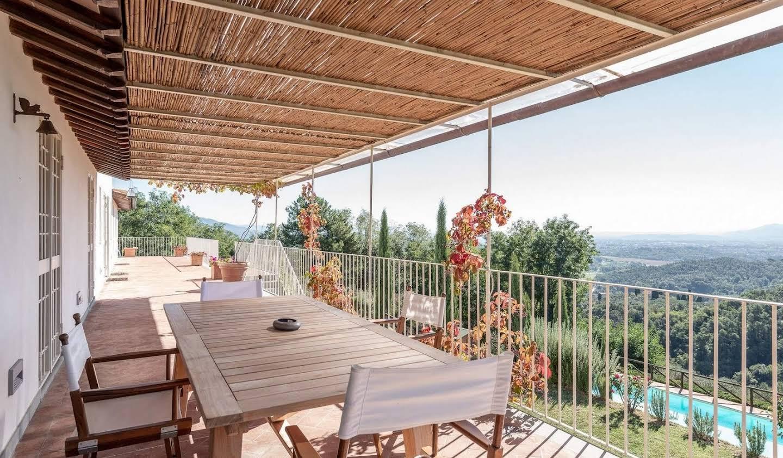 Villa avec jardin et terrasse Lucques