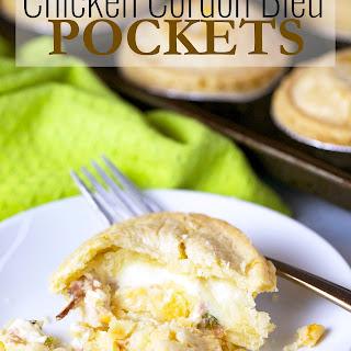 Chicken Cordon Bleu Pockets.