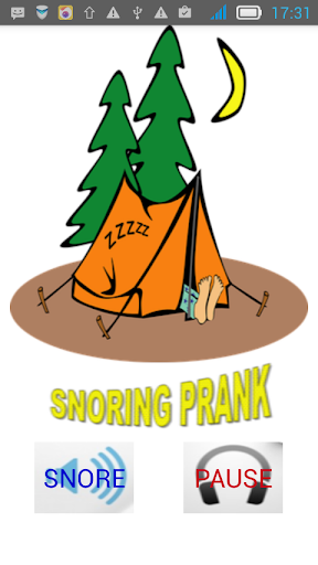 Snore prank