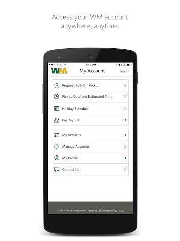 Waste Management Mobile Screenshot