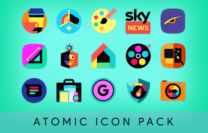 Atomic Icon Pack v1.5